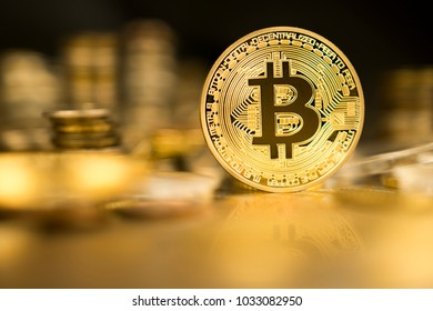 Bitcoin on the table