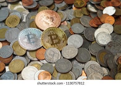 Bitcoin on Thai Baht coins