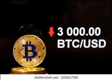3000 usd la btc