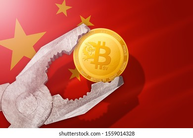 bitcoin SV regulation in China; bitcoin sv coin is under pressure