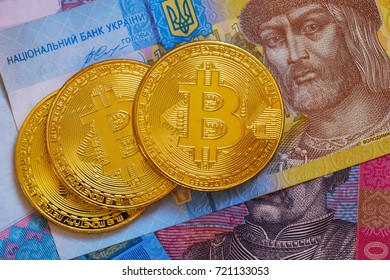 Bitcoin and Ukraine national currency - hryvnya