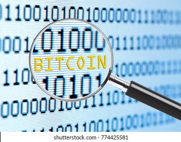 Bitcoin under a magnifying glass