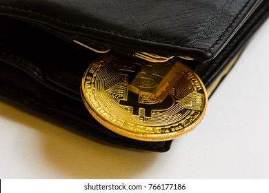 Bitcoin in the wallet