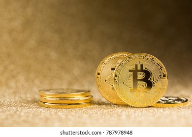 Stop Watch On Pile Gold Coin Stock Photo (Edit Now