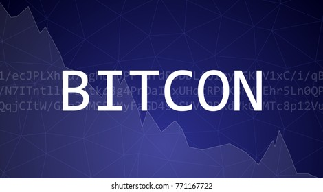 BitCon abstract illustration demonstrating volatility and lack of trustworthiness.