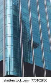 Bitexco building reflection, Ho Chi Minh, Vietnam