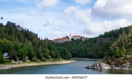 Bitov Castle - landscape