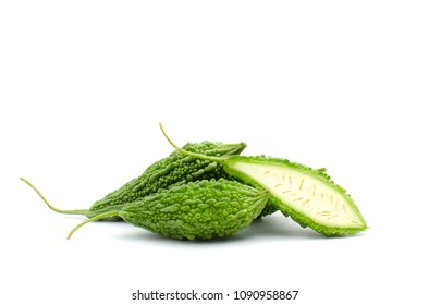Bitter Gourd (Karela) is vegetable organic food ingredients Can be used for cooking.