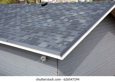 Bitumen shingles roof.