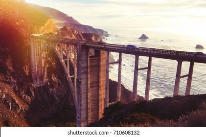 Bixby bridge, USA