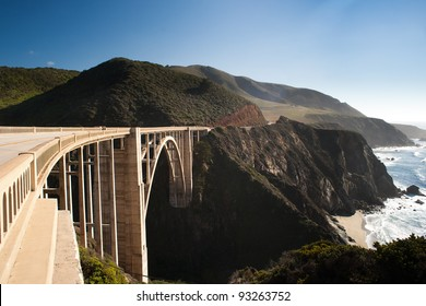 Bixby Creek Bridge in the Big Sur, California