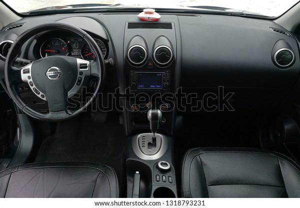 Biysk Russia Circa February 2019 Nissan Stock Image