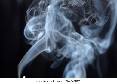 The bizarre forms of smoke