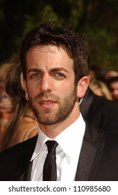 B.J. Novak arriving at the 59th Annual Primetime Emmy Awards. The Shrine Auditorium, Los Angeles, CA. 09-16-07
