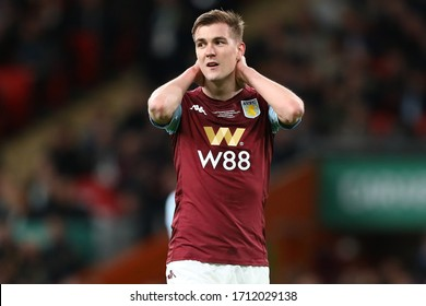 Bjorn Engels of Aston Villa - Aston Villa v Manchester City, Carabao Cup Final, Wembley Stadium, London, UK - 1st March 2020