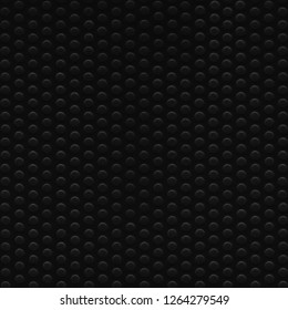 Black abstract dot texture pattern background, large detailed vertical textured macro closeup, natural blank empty copy space, multiple dots