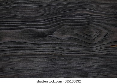 Black aged wooden texture