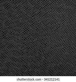black artificial leather texture for background