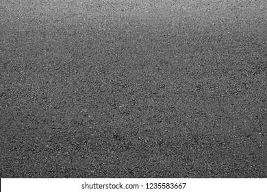 Black asphalt road texture. - background