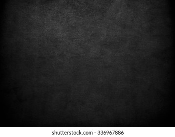 Black background. Blackboard. Grunge texture. Black wall.Chalkboard.