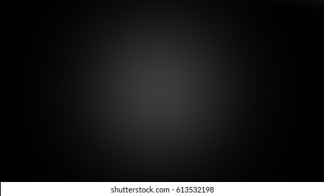 Black Background Center Gradient Spot Light