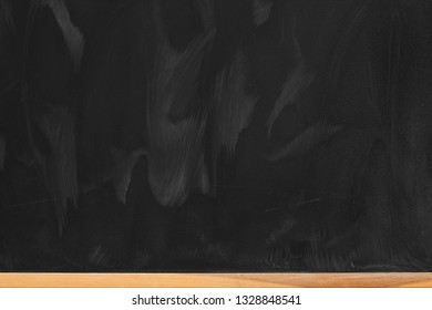Black background of chalkboard texture