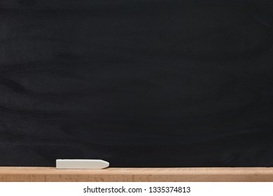 Black background of chalkboard texture.