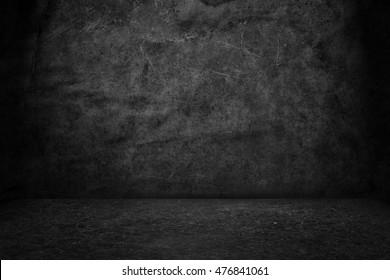 Black background. Grunge texture