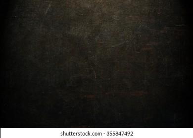 Black background. Horror