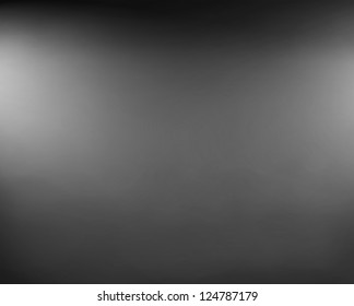 black background or luxury gray background abstract white blurred lights and smooth background texture, black and white background for printing monochrome brochure, web ad, elegant dark gradient wall