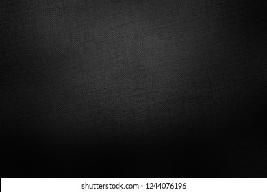 black background old paper texture or canvas texture background