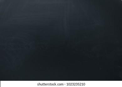 Black background showing matte rough wood blackboard texture.