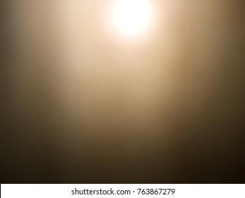 Black background sun light