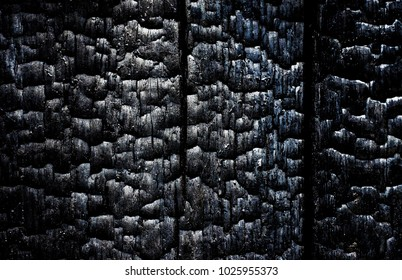 black background, texture, baked wood