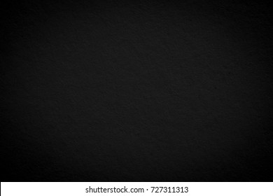 Black background texture plain art paper white. Dark wall grunge old.