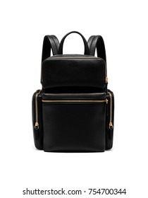 black backpack for lady