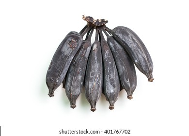black banana or rotten banana.