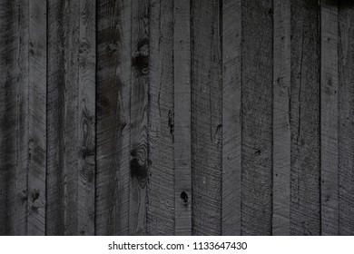Black Barn Wall Texture Horizontal Background Image