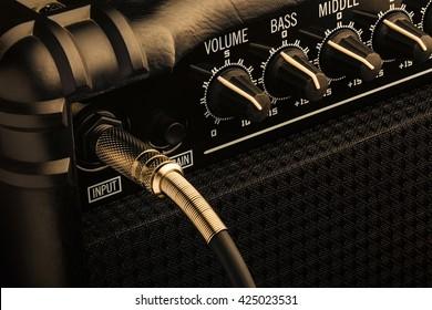 Black Bass Guitar Amplifier