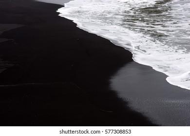 Black beach Dirholaey, Iceland