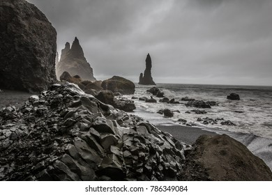 Black beach in Iceland