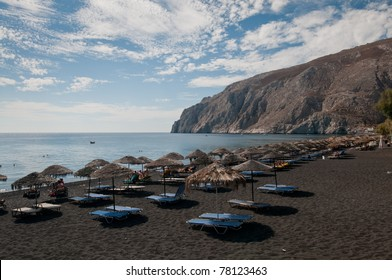 Black Sand Beach Santorini Images Stock Photos Vectors Shutterstock