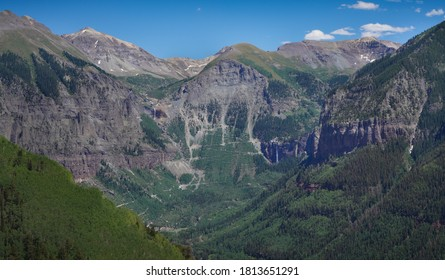 Black Bear Pass and Bridal Veil Falls, Telluride Colorado
