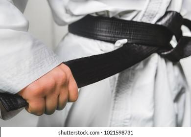 Black Belt Karate Martial Art