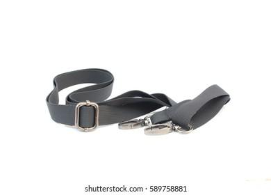 black belt on isolated