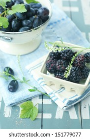 black berry & grape