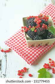 black berry & red berry