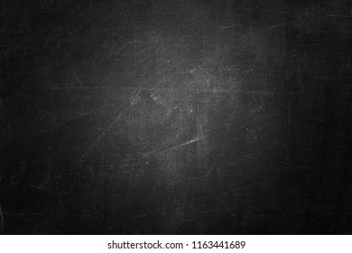 black board or chalkboard wall texture background