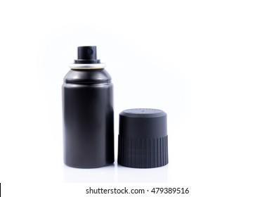 black body spray canned  for men on white