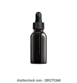 Black Bottle Eye Dropper